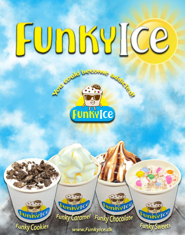 Softice maskine Funky Ice